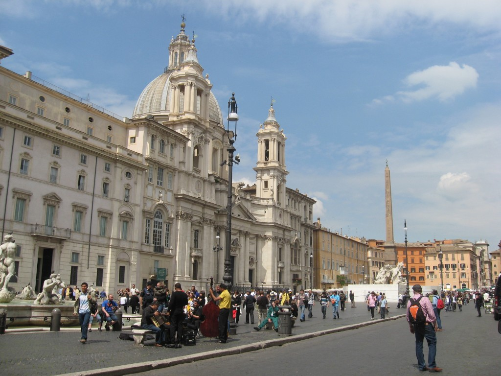 Things to do in Rome: Piazza Navona