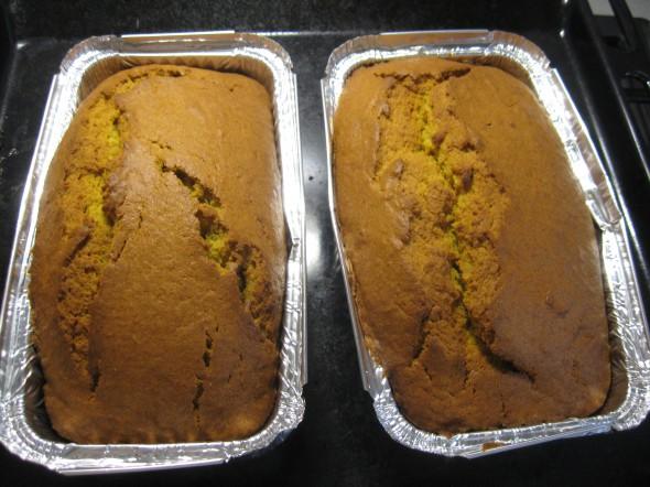 Pumpkin Ricotta Pound Cake