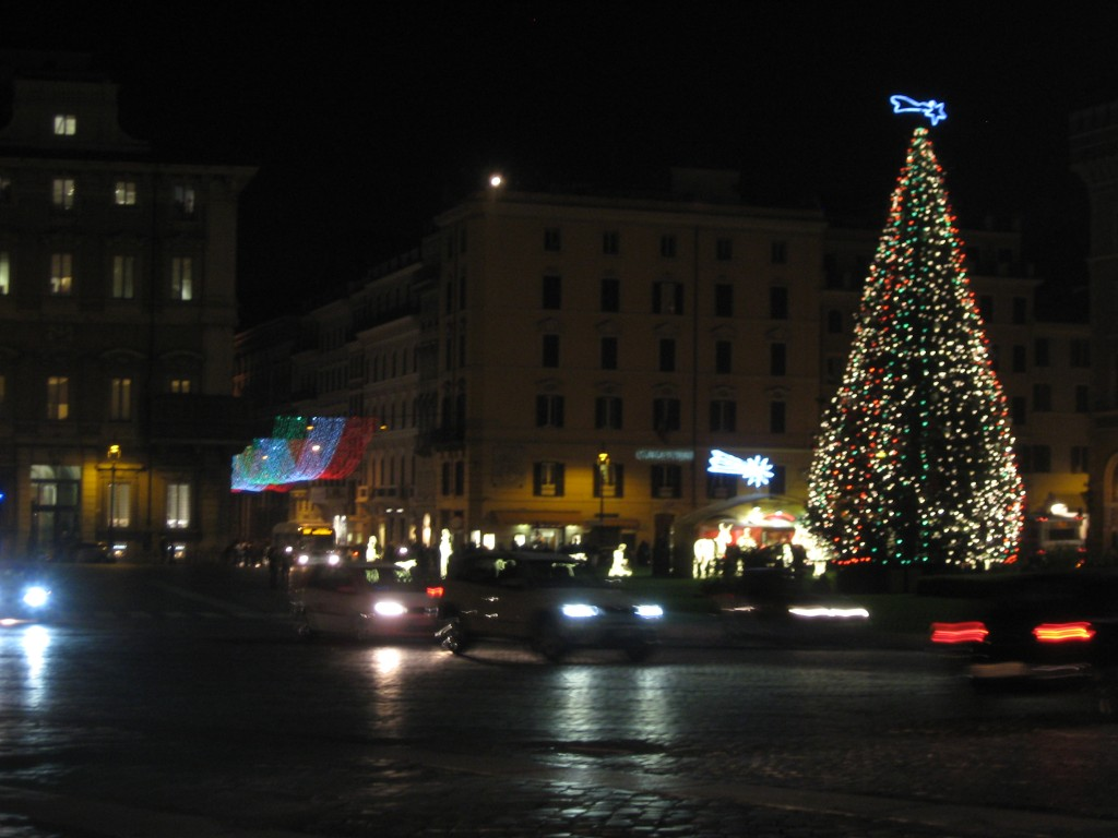 Christmas Tree in Piazza Venezia, Rome