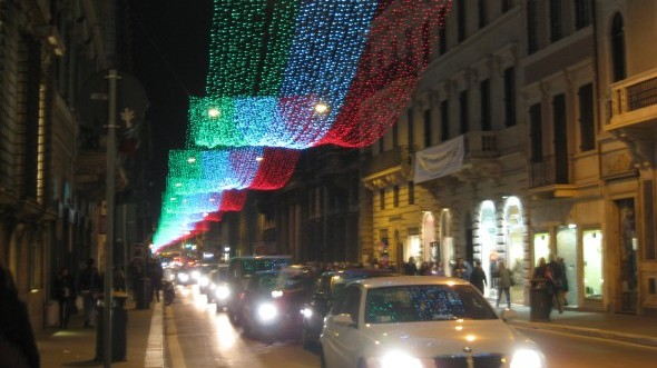 BR Briefs: Holiday Shopping in Rome
