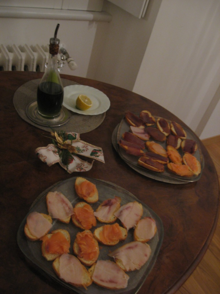 Christmas in Rome: Appetizer_Crostini