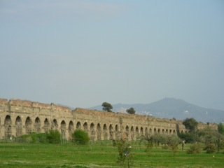 The Park of Aqueducts, Rome, Italy