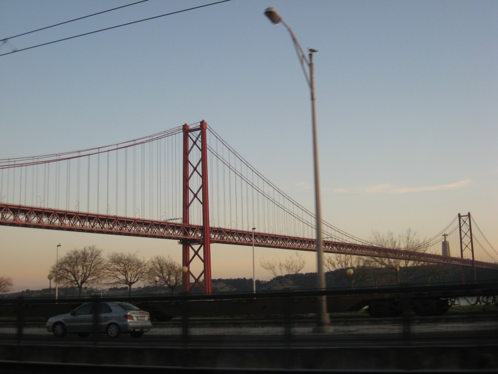 Things to do in Lisbon: Ponte 25 de Abril and Cristo Rei