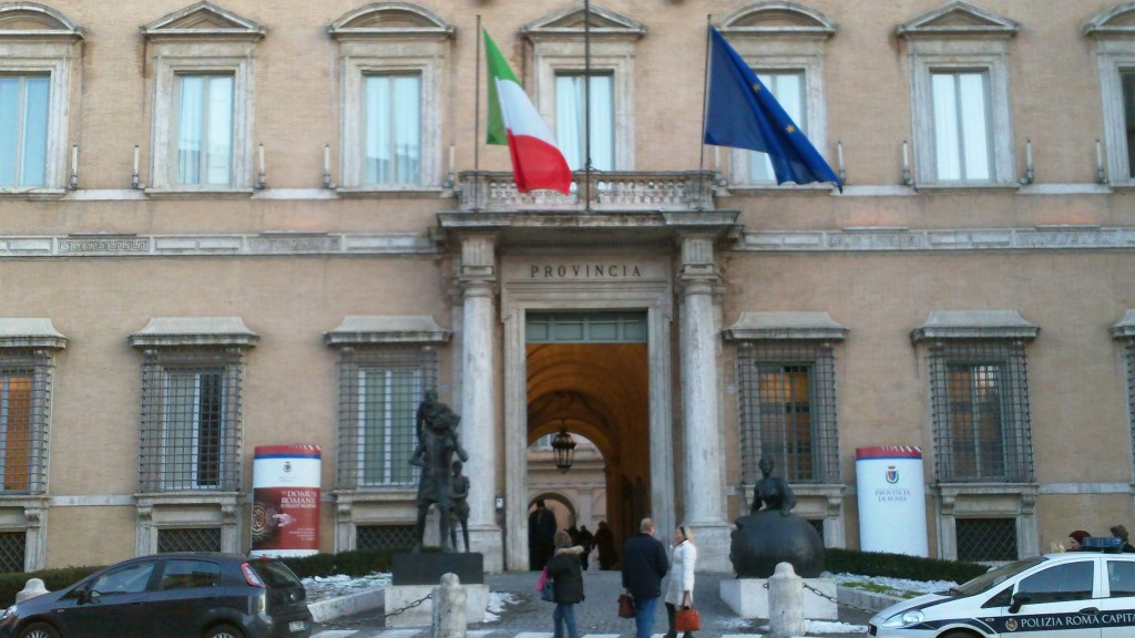 Attraction in Rome: Palazzo Valentini