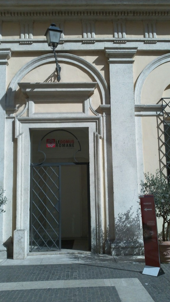 Attraction in Rome: Palazzo Valentini - Entrance to Le Domus Romane