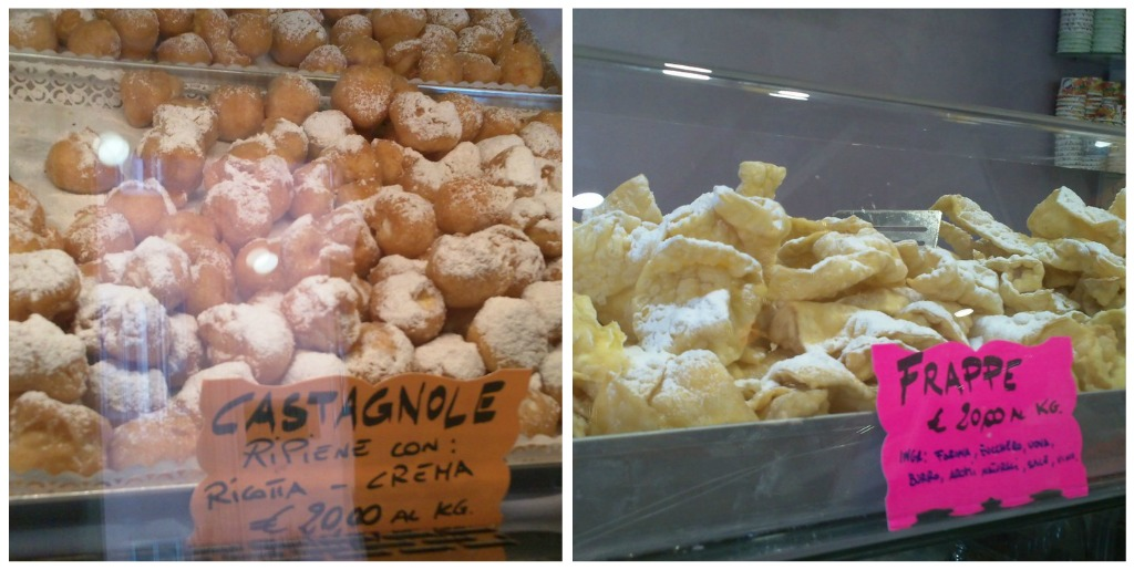 Carnevale Treats: Castagnole and Frappe