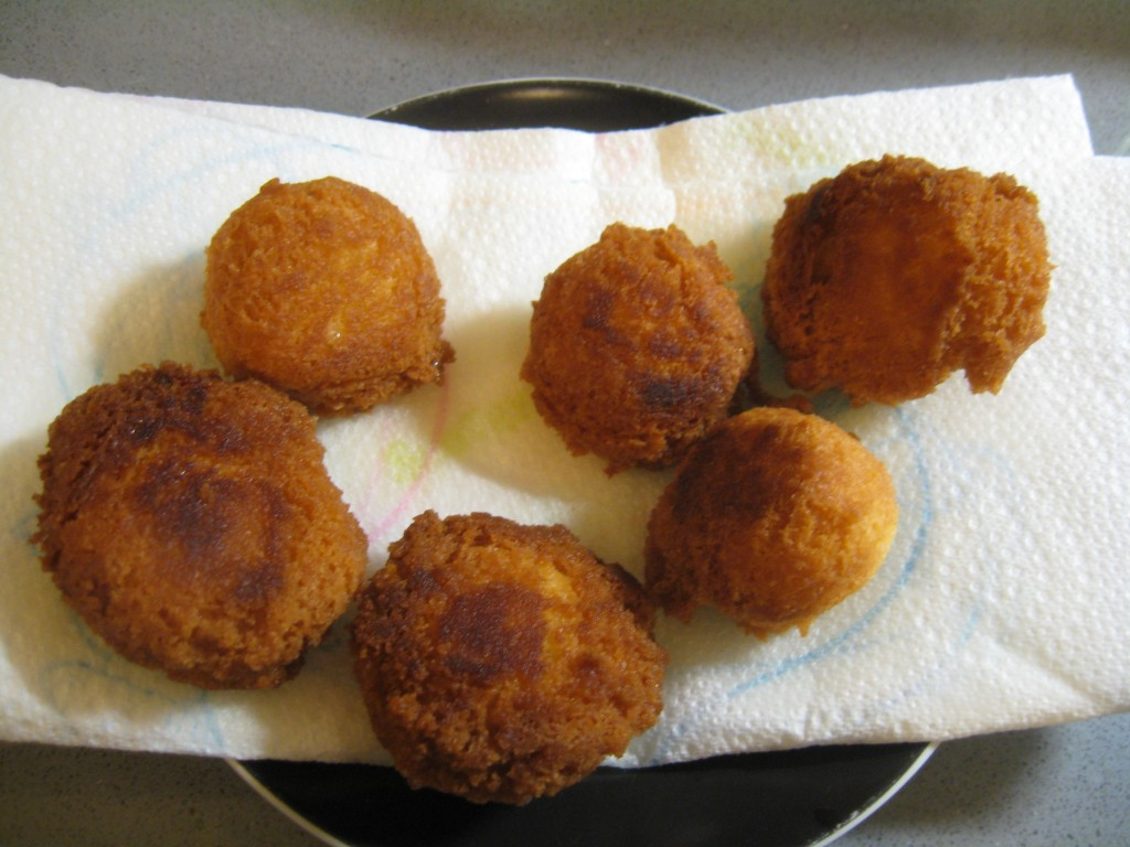 Carnevale: Castagnole Fried - Done