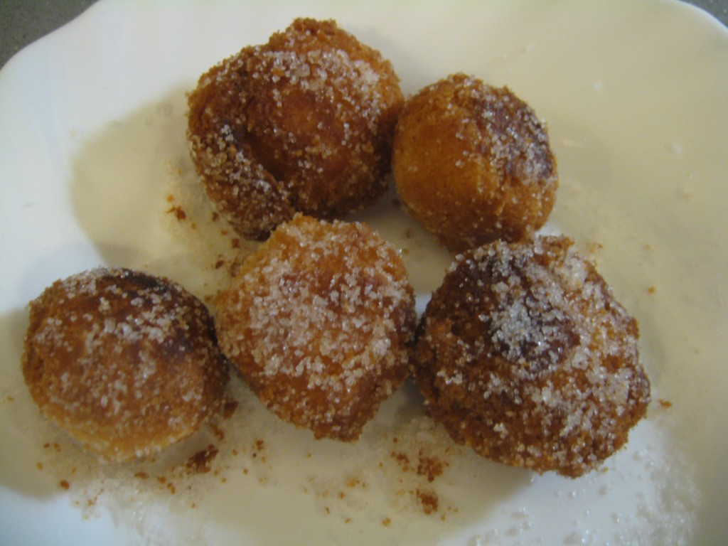Carnevale: Castagonole Fried - Sugar Coated