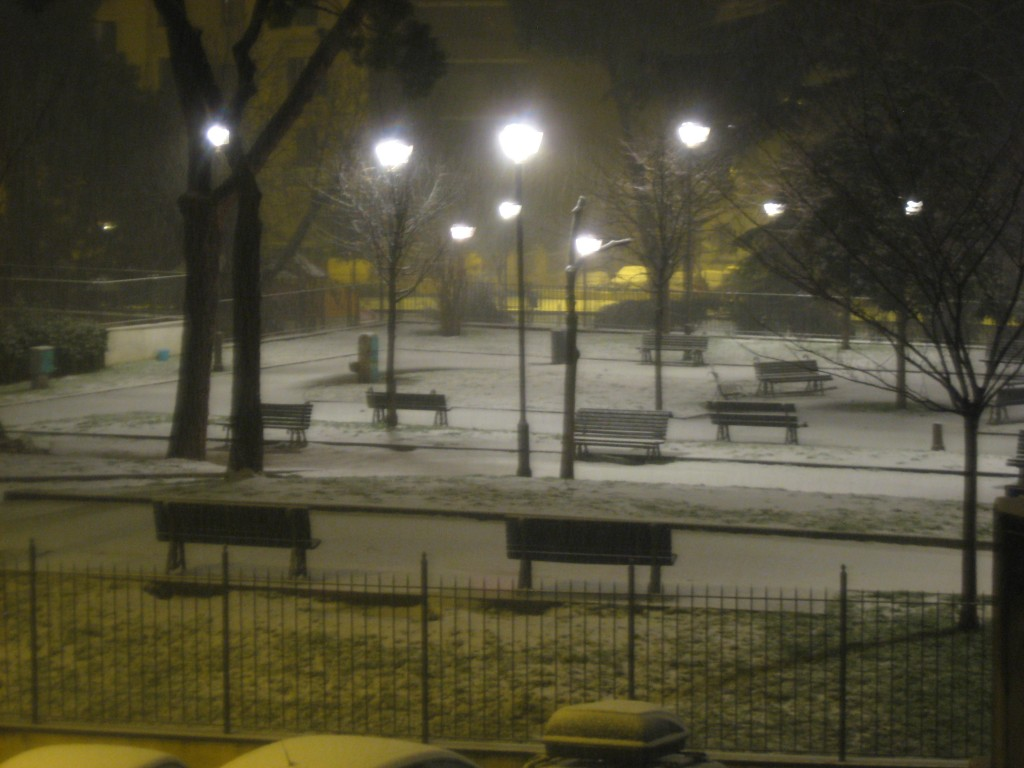 More Snow in Rome: Blanket of Snow