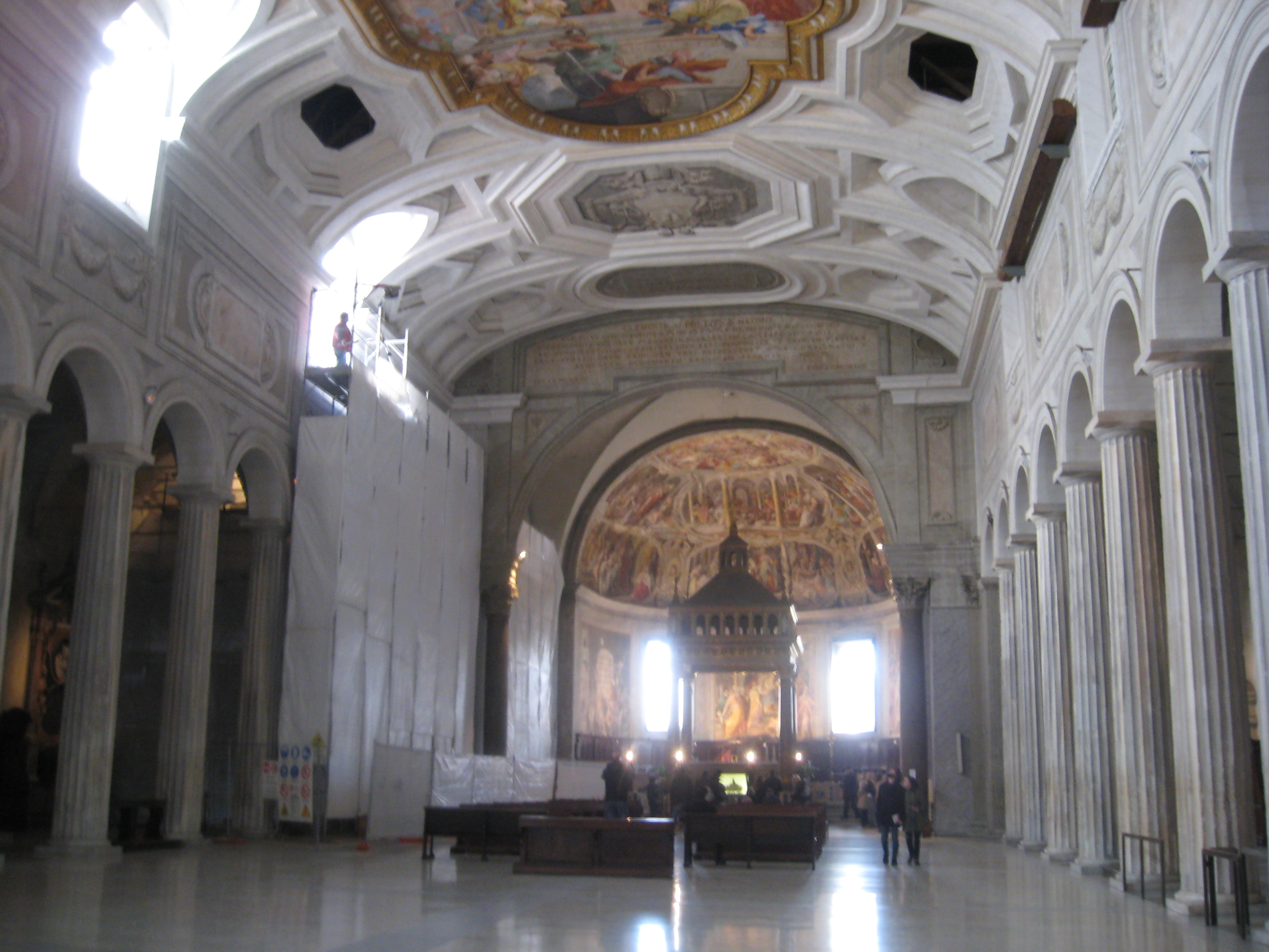 Attraction in Rome: St Peter in Chains - View from Entrance
