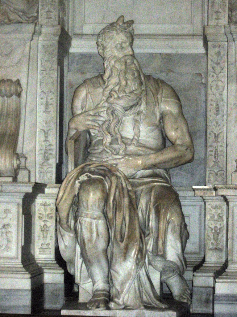 Attraction in Rome: St Peter in Chains: Moses