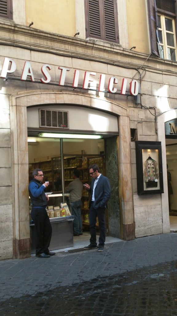 Pastificio: Quick Bite near Spanish Steps