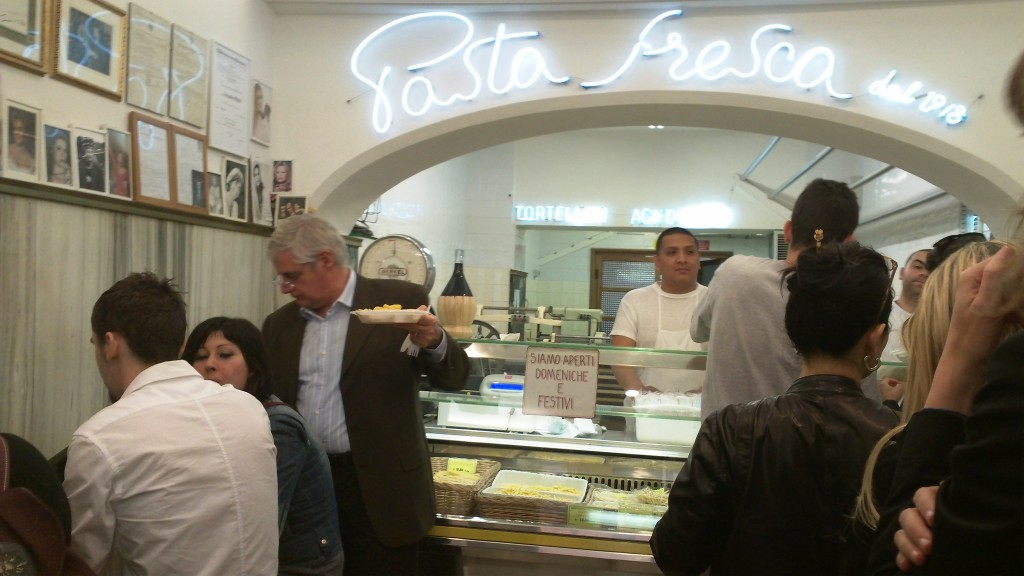Pastificio: Quick Bite near Spanish Steps: Two Pasta