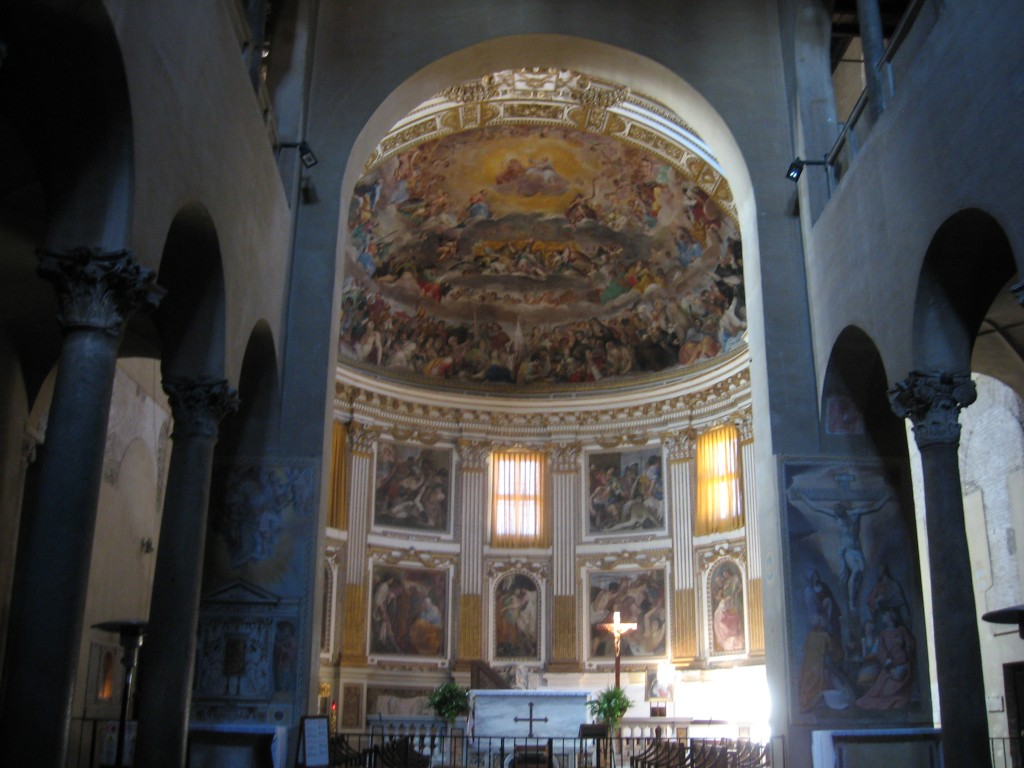 Attraction in Rome: Santi Quattro Coronati - Interior of Basilica