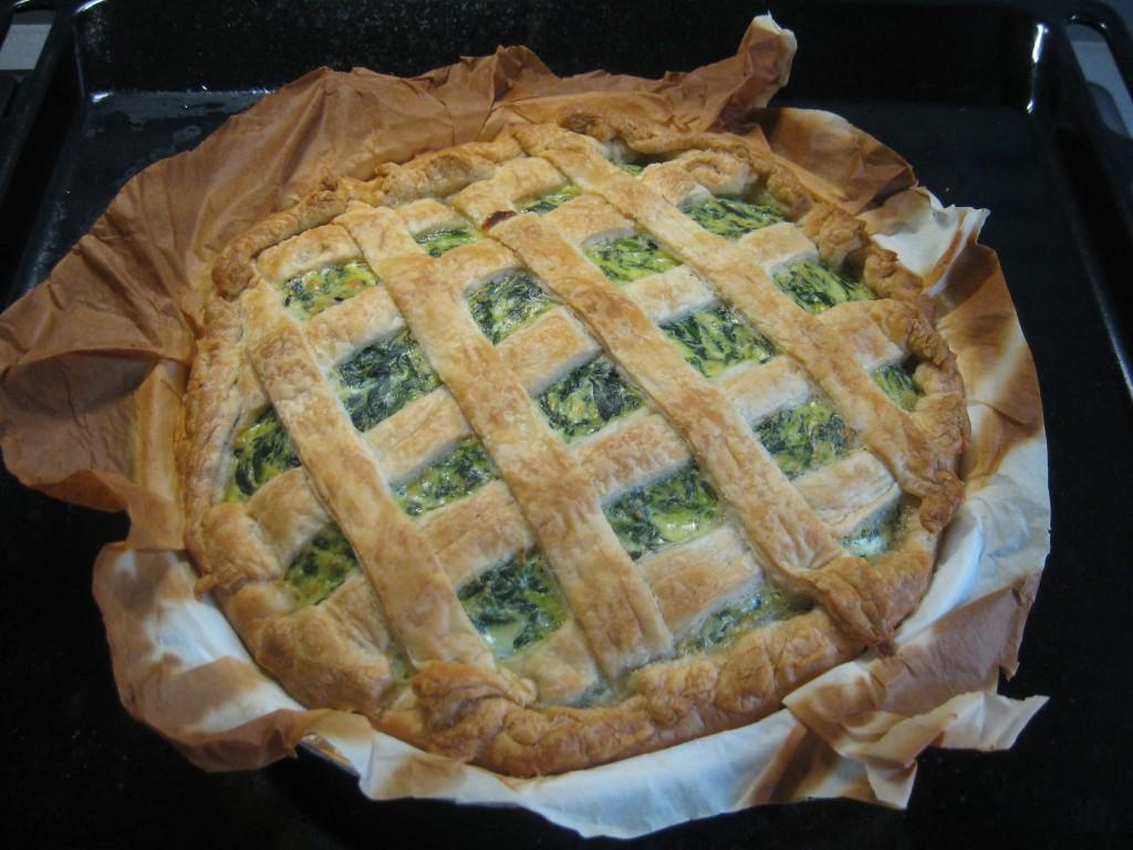 Torta rustica: Spinaci e ricotta - Done