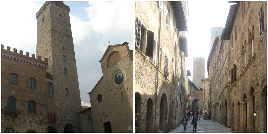 Tuscan Towns: San Gimignano - Duomo and Towers
