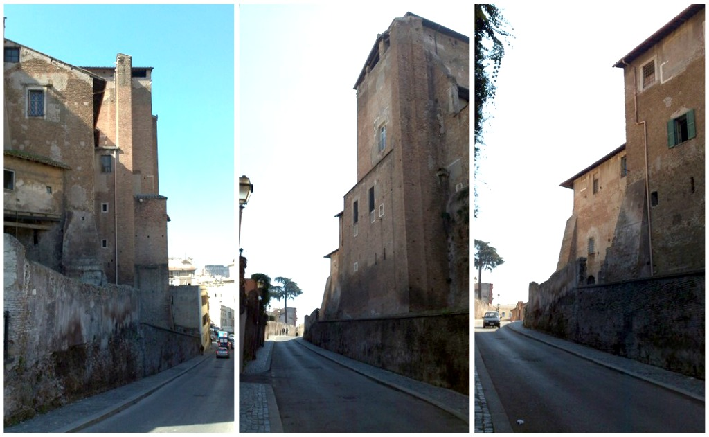 Attraction in Rome: Santi Quattro Coronati - Walls