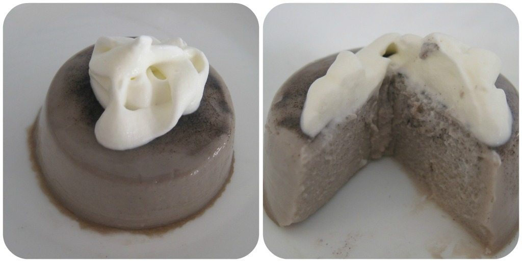 Panna Cotta recipe: Black sesame variation