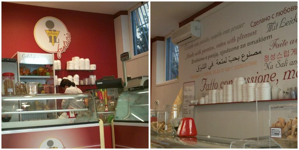 sweet treats near circo massimo: Il Gelato - Interior