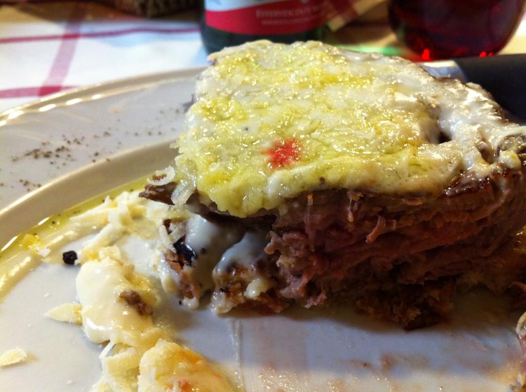 Da Danilo: Rare steak