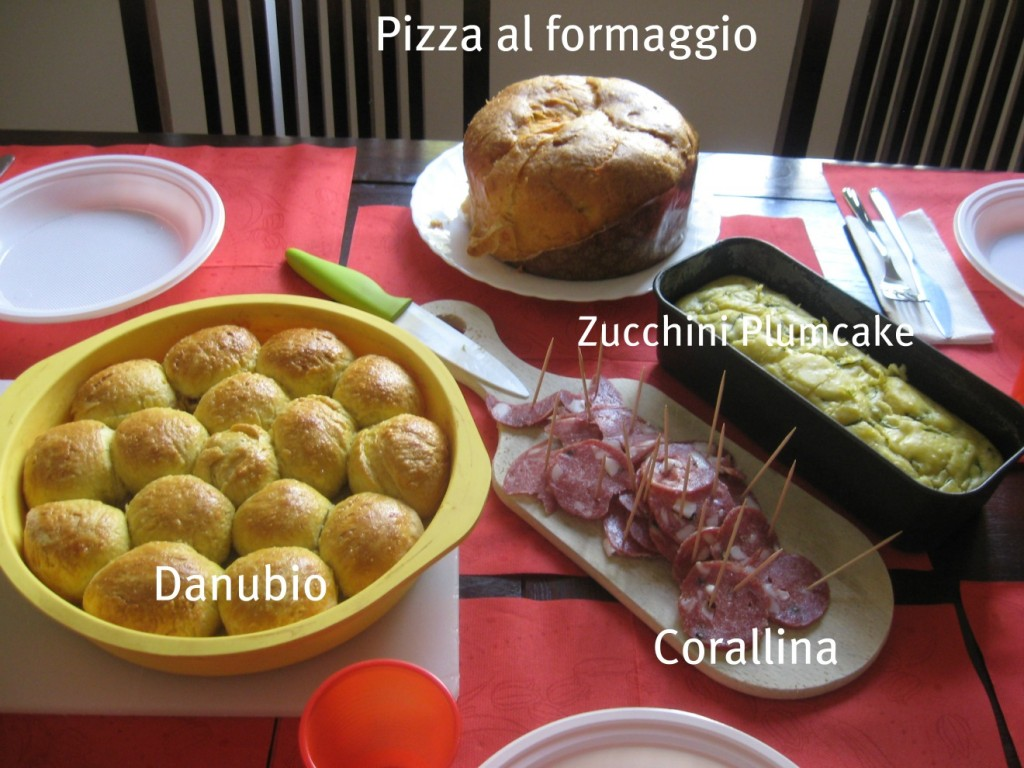 Our easter lunch browsingrome for Easy easter lunch menu