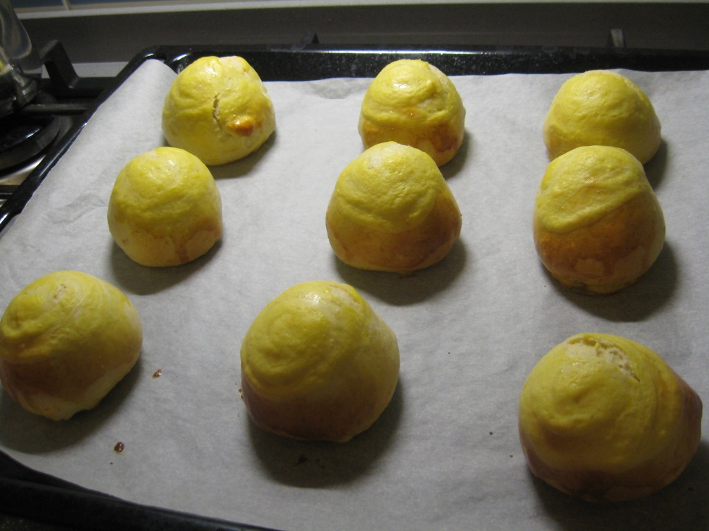 Learning to make brioche veneziana - End results