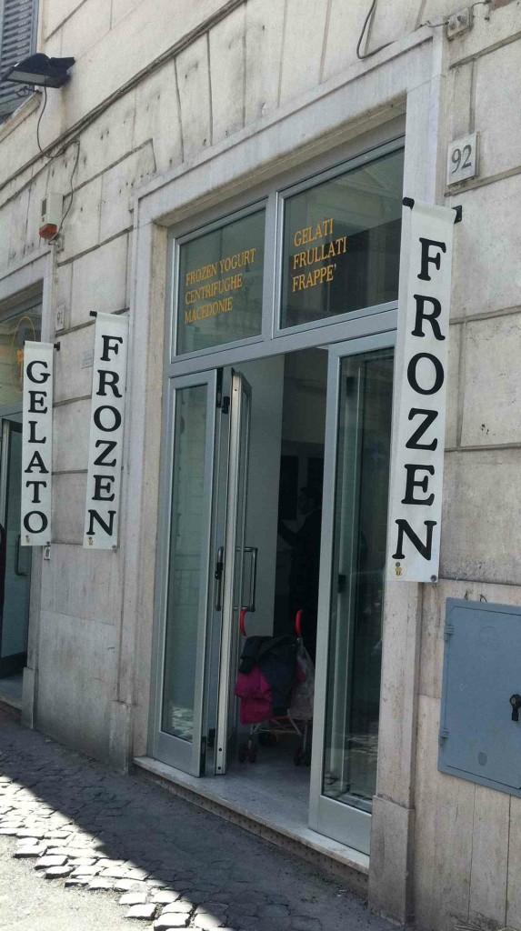 Il Gelato di Claudio Torce: Store front