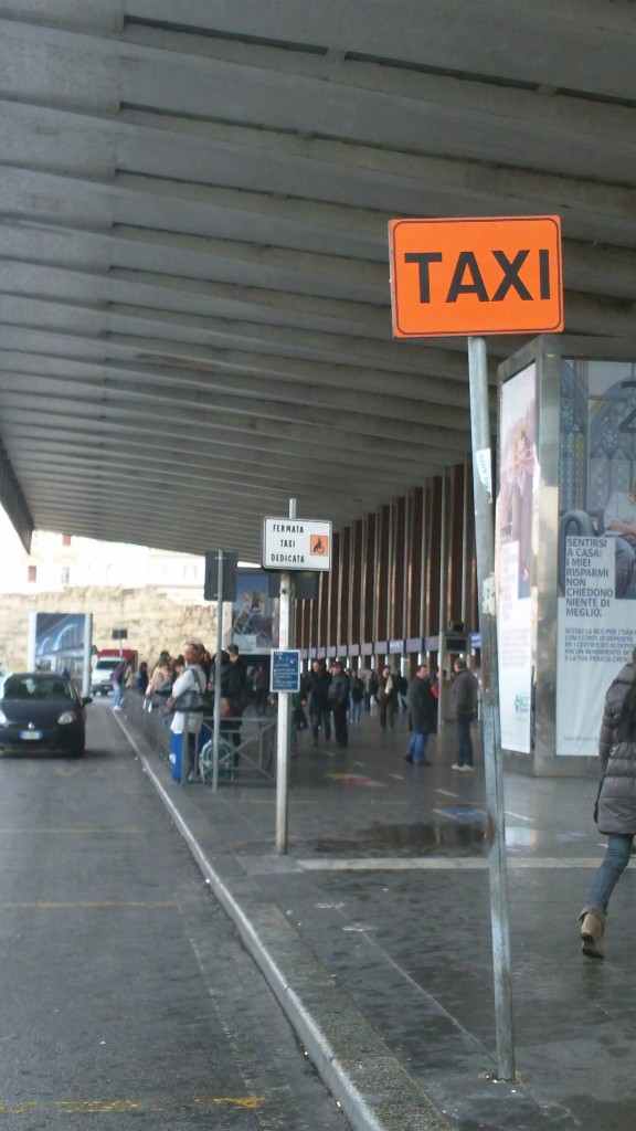 Taxis in Rome