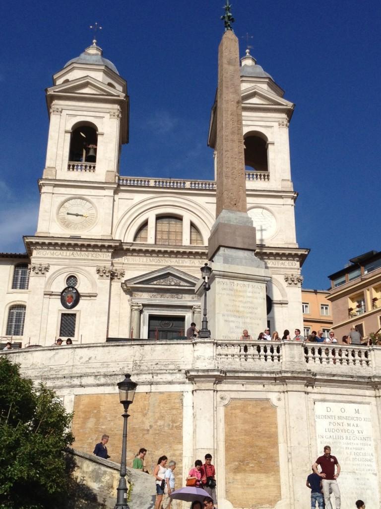 Don't Have to be Zuckerbergs to visit Rome - Trinita dei Monti