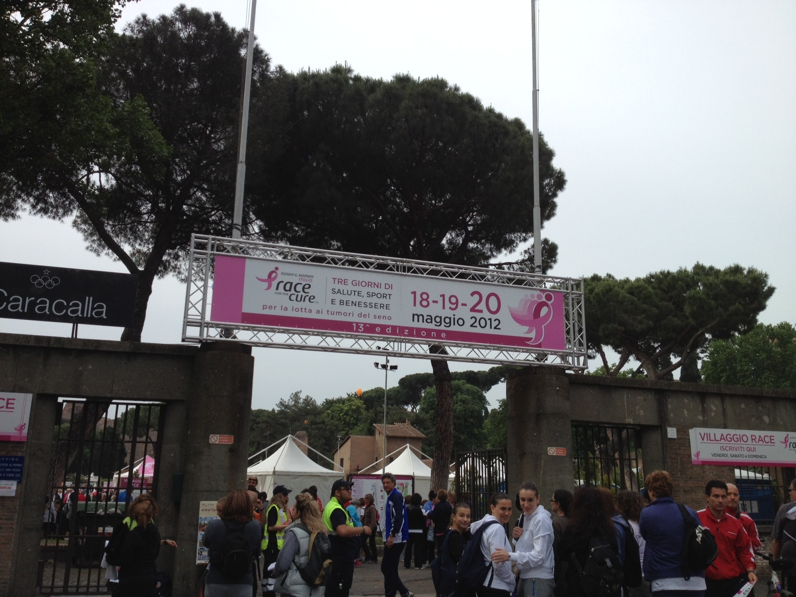 Race For The Cure In Rome 2012 Browsingrome