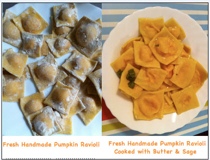 Homemade Meals in Rome: Ravioli