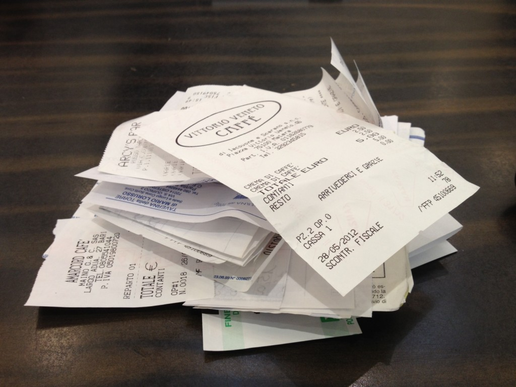 Don't Have To Be the Zuckerbergs to visit Rome - Receipts