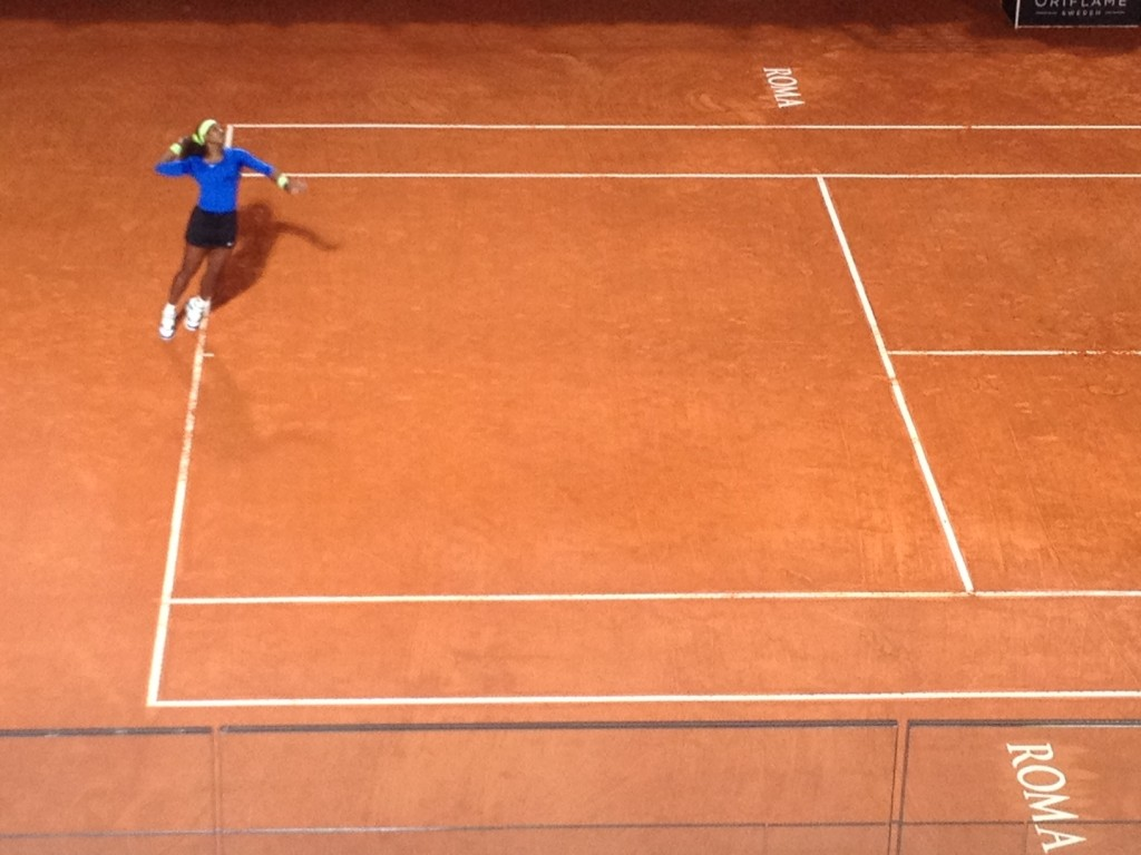 Sport Events in Rome in May - Serena Williams
