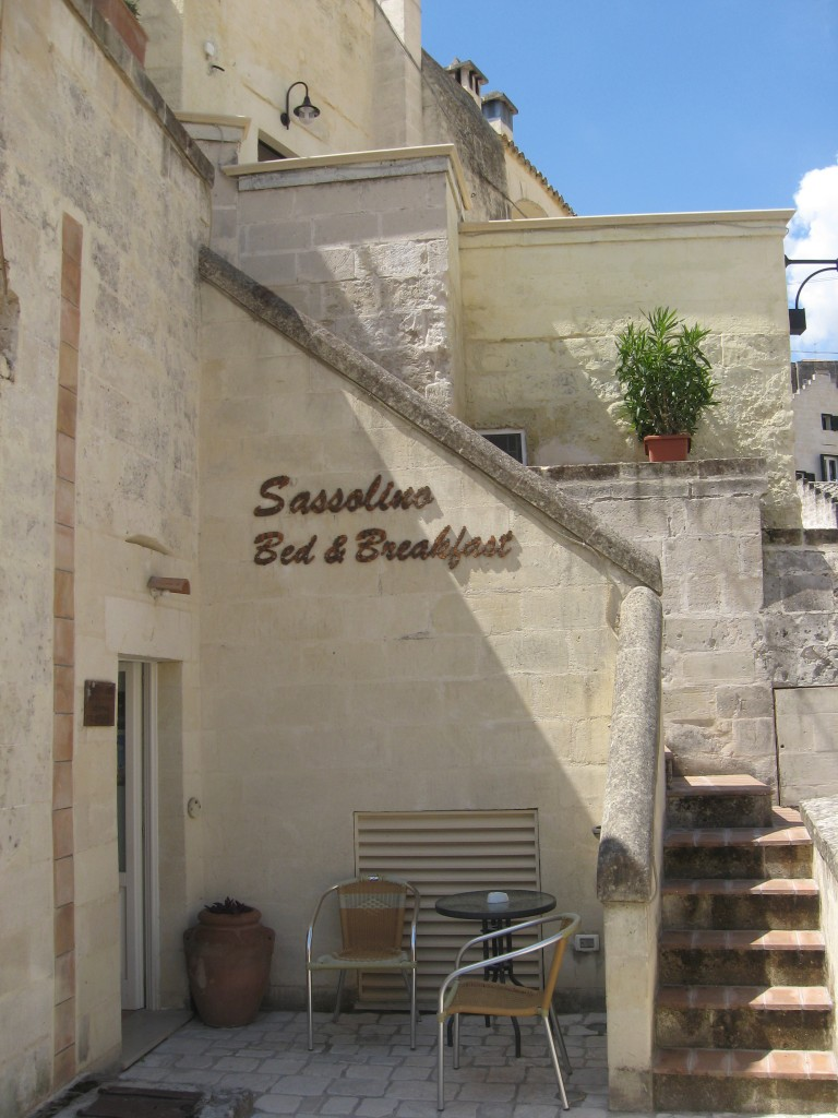 Matera Italy: Bed and Breakfast