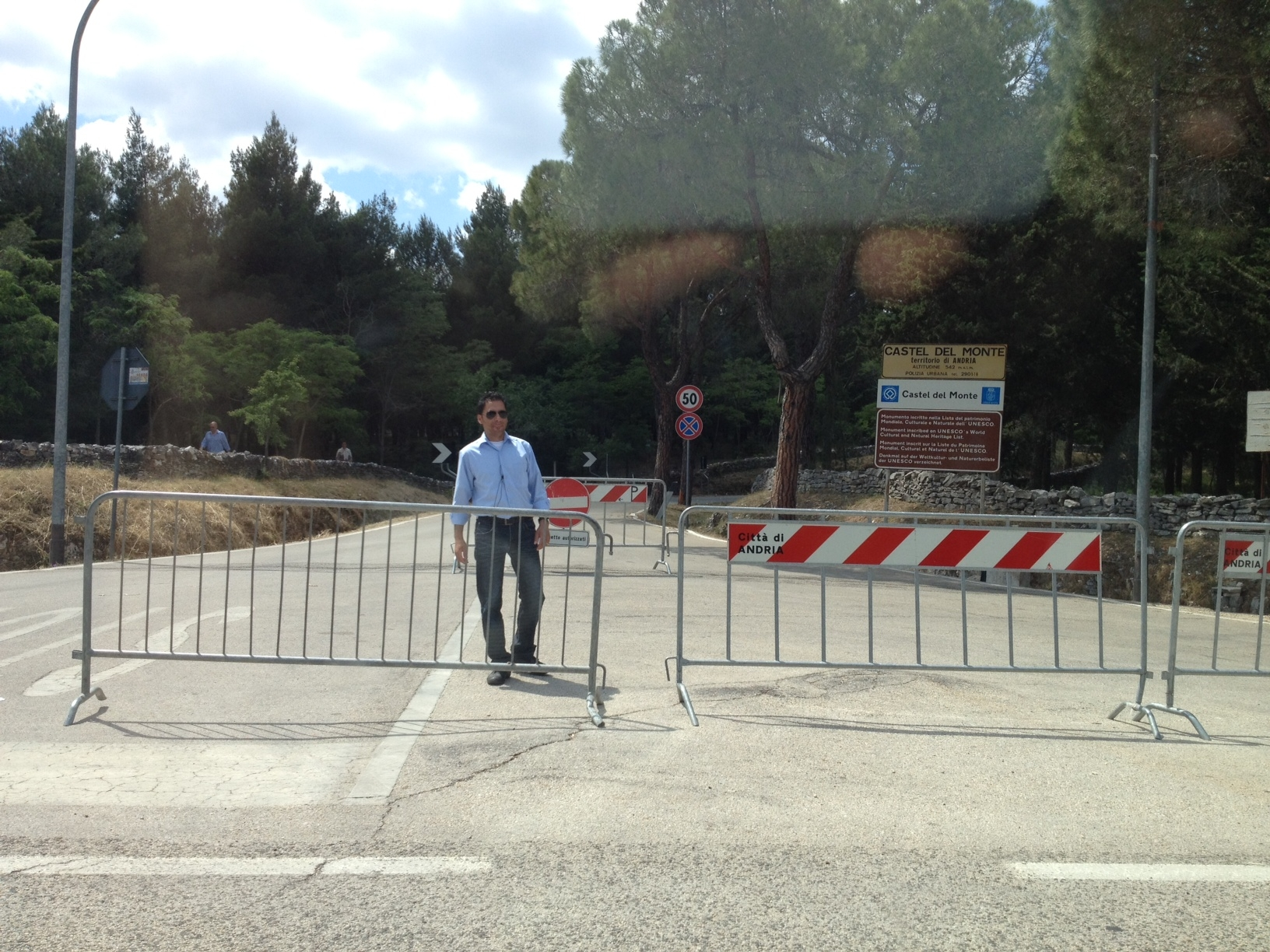 Castel del Monte - Blocked Access