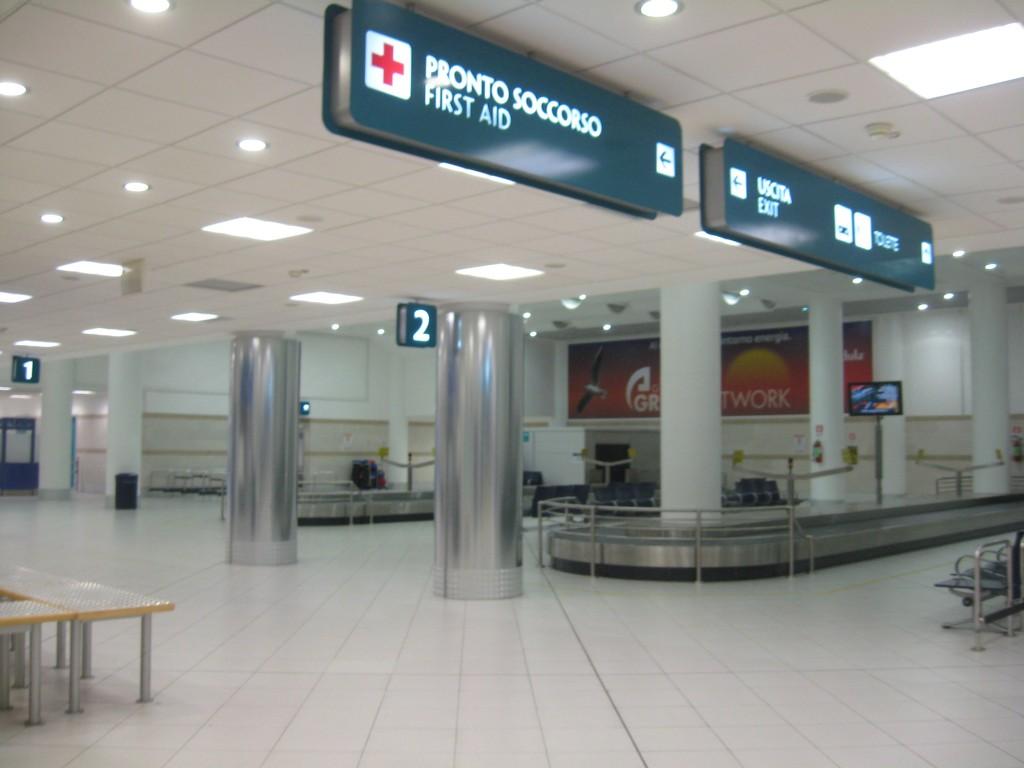Rome to Bari: Airport