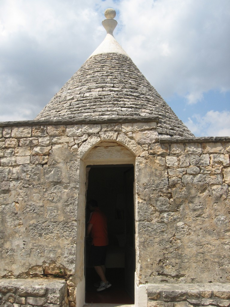 Staying in a trullo in Puglia - Our trullo