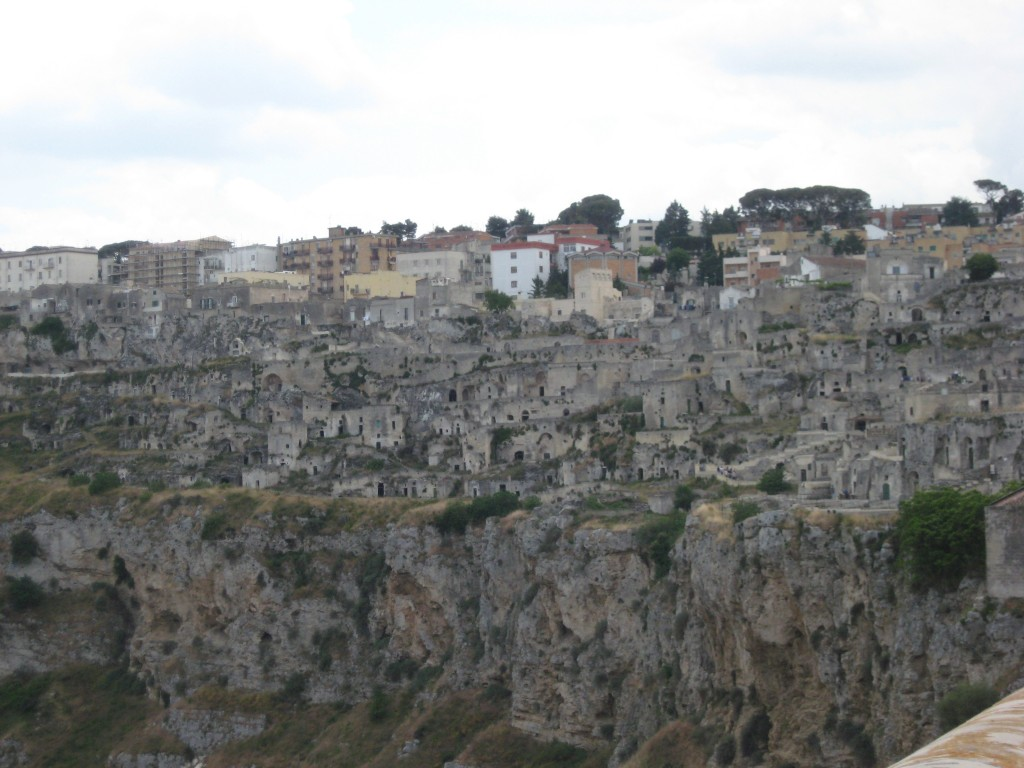 Matera Italy: Caveoso New and Old