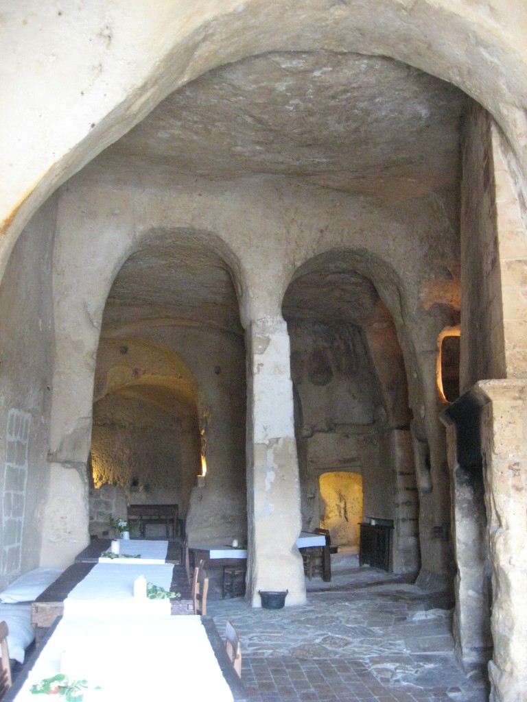 Matera, Italy: Le Grotte della Civita - Breakfast room
