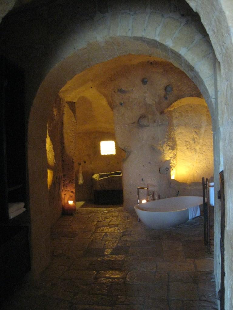 Matera Italy Le Grotte Della Civita