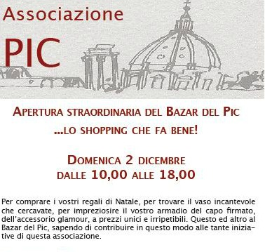 PIC December Event - Rome, Italy