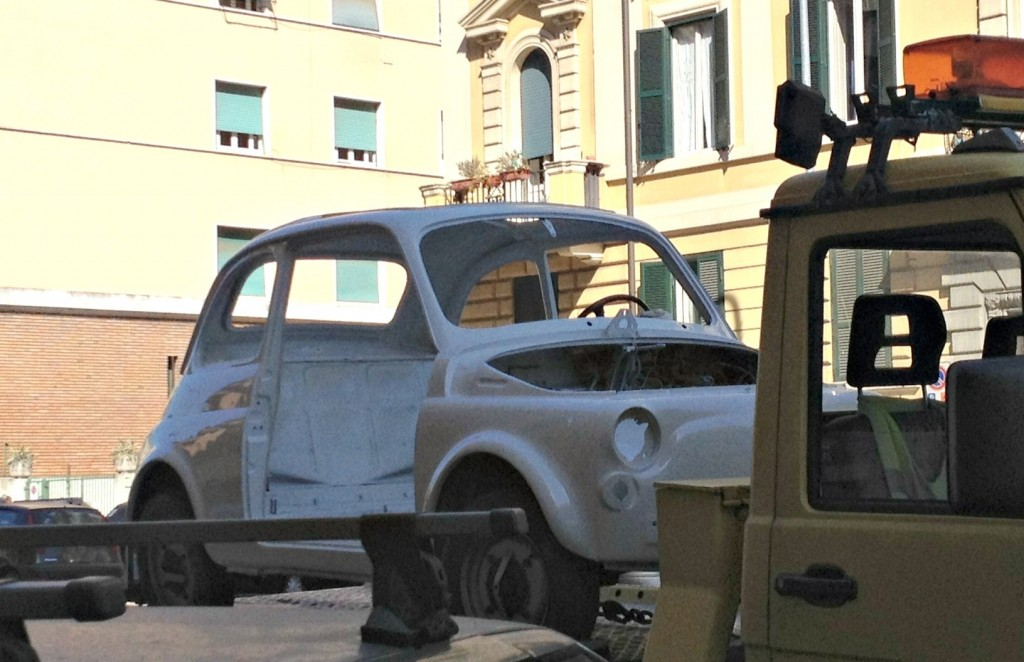 Vintage Fiat 500 - Stripped Naked