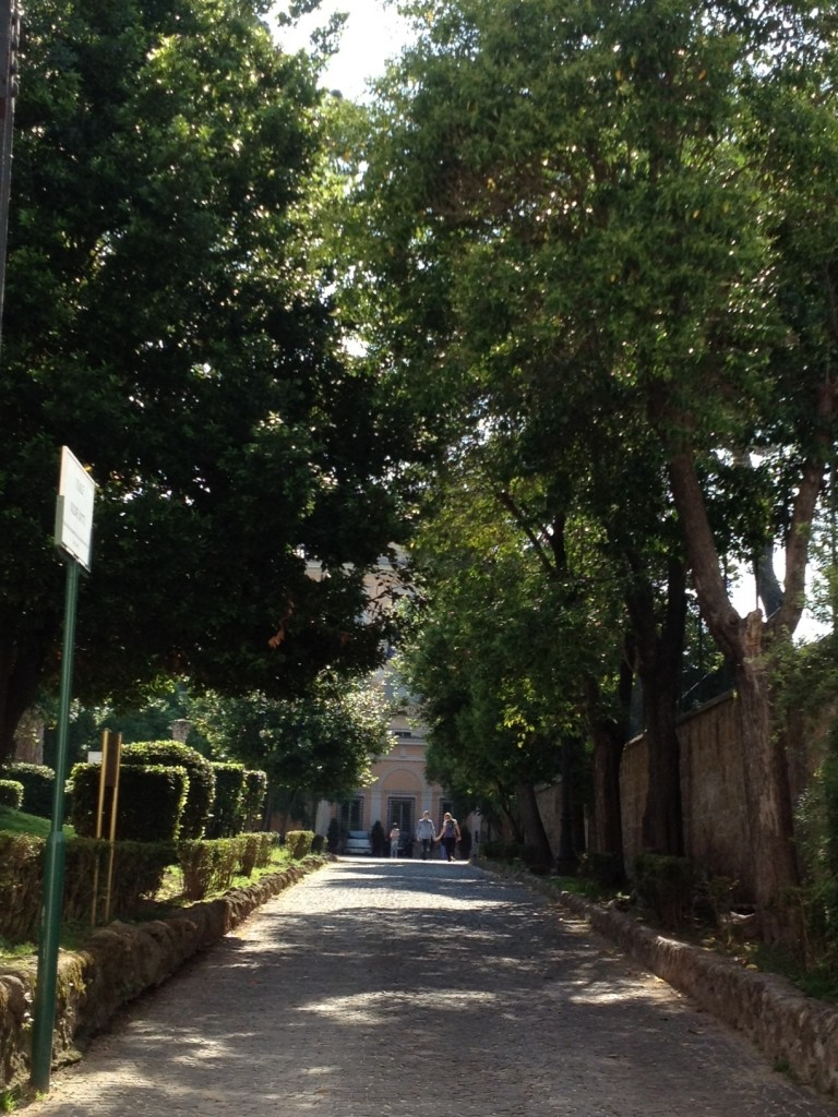 Hottest June in Rome Italy - Parks - Villa Celimontana