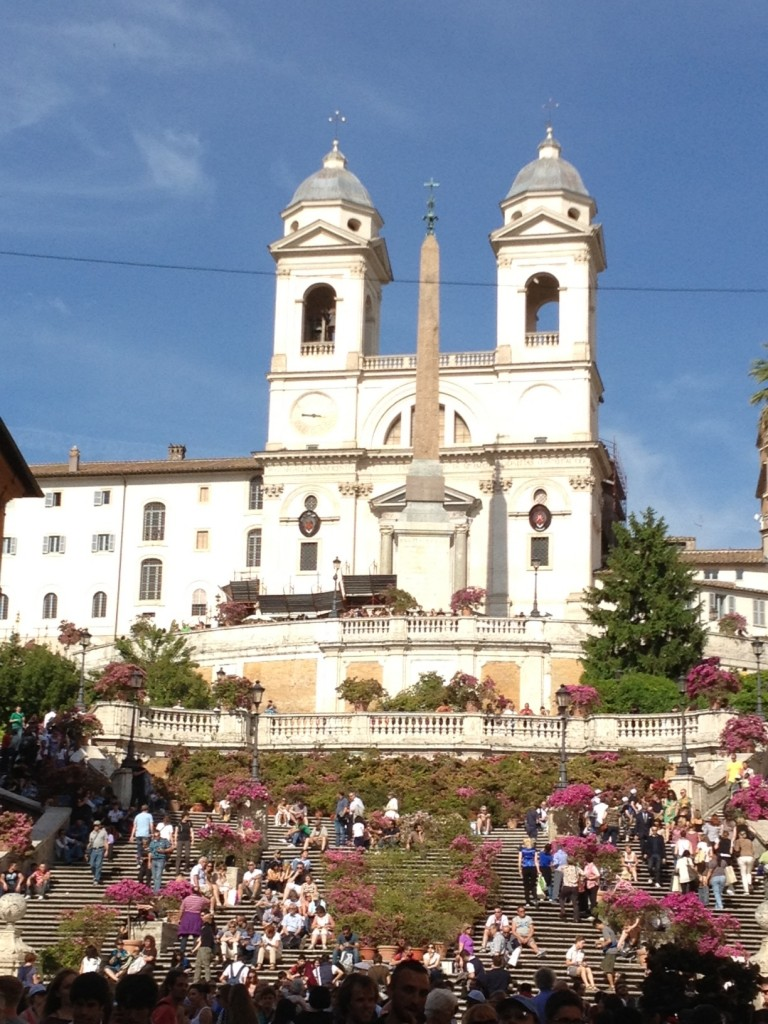 While in Rome - Spanish Steps