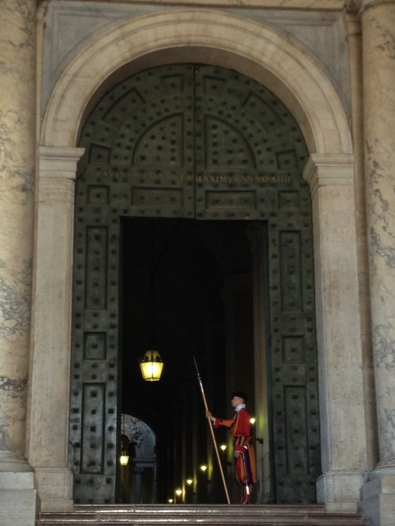 While in Rome - Swiss Guards