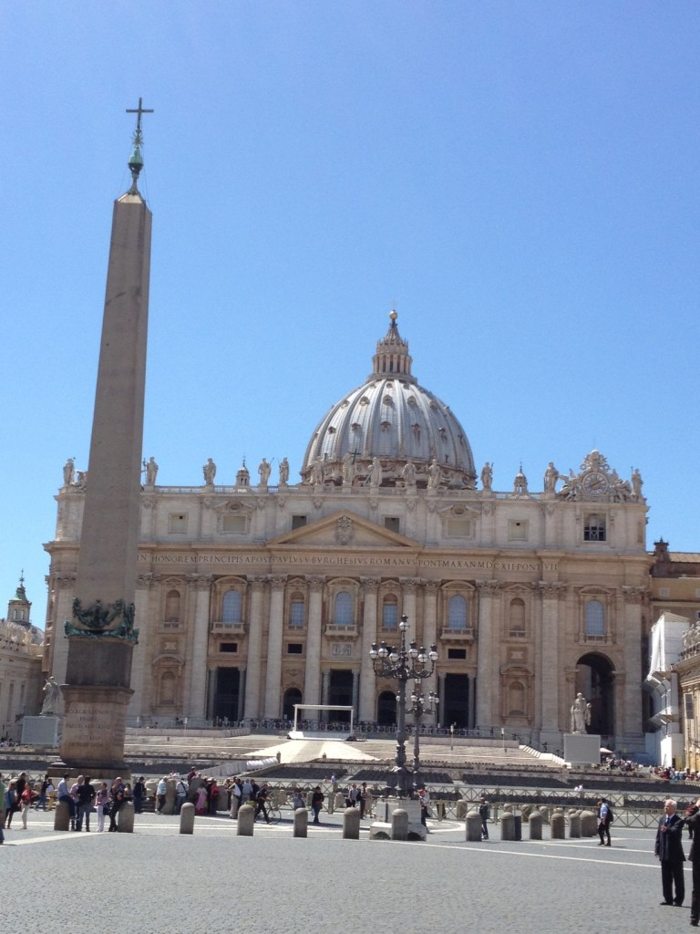 While in Rome - Vatican