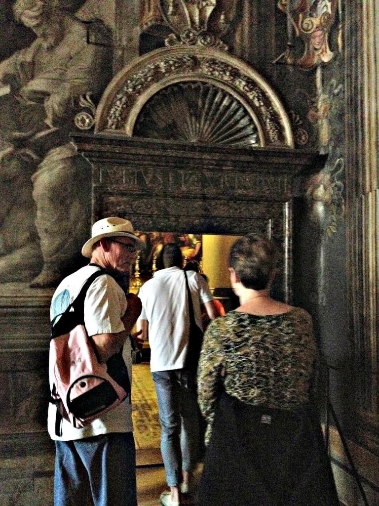 Vatican Sistine Chapel Tour - Cappella Niccolina entrance