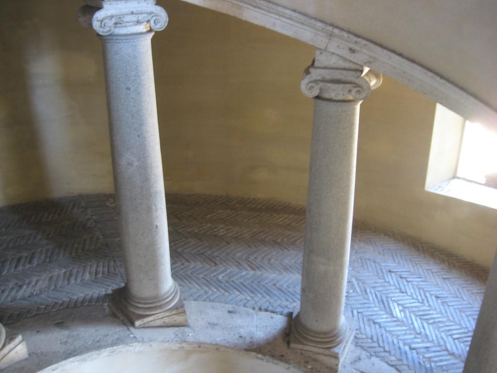Vatican Sistine Chapel Tour: Bramante Staircase_Mules