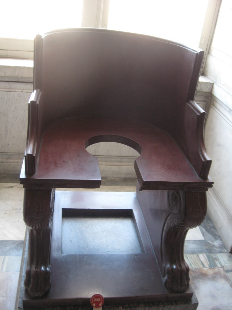 Vatican Sistine Chapel Tour - Chair in Gabinetto delle Maschere