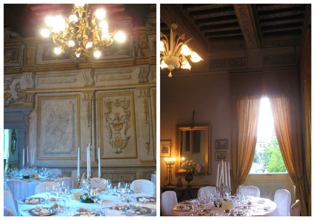 Wedding Banquet at Palazzo Pongelli - Todi, Italy